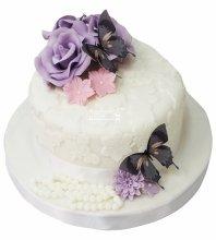 №4257 Свадебный торт небольшой