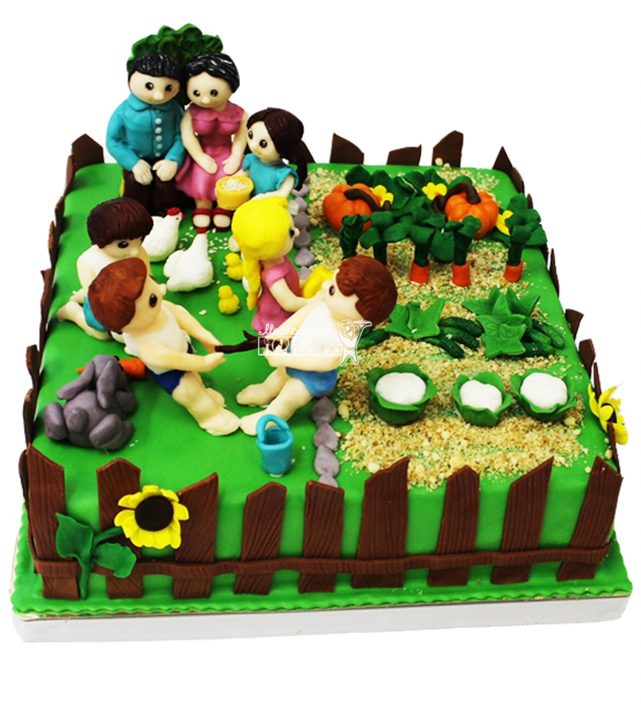 №4267 Торт огород