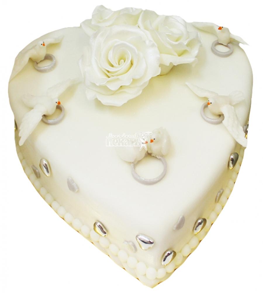 №4274 Свадебный торт