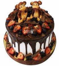 №4287 Торт с обезьянками