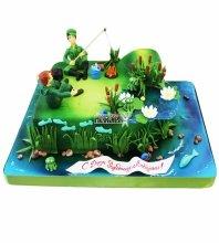 №4328 Торт рыбаку