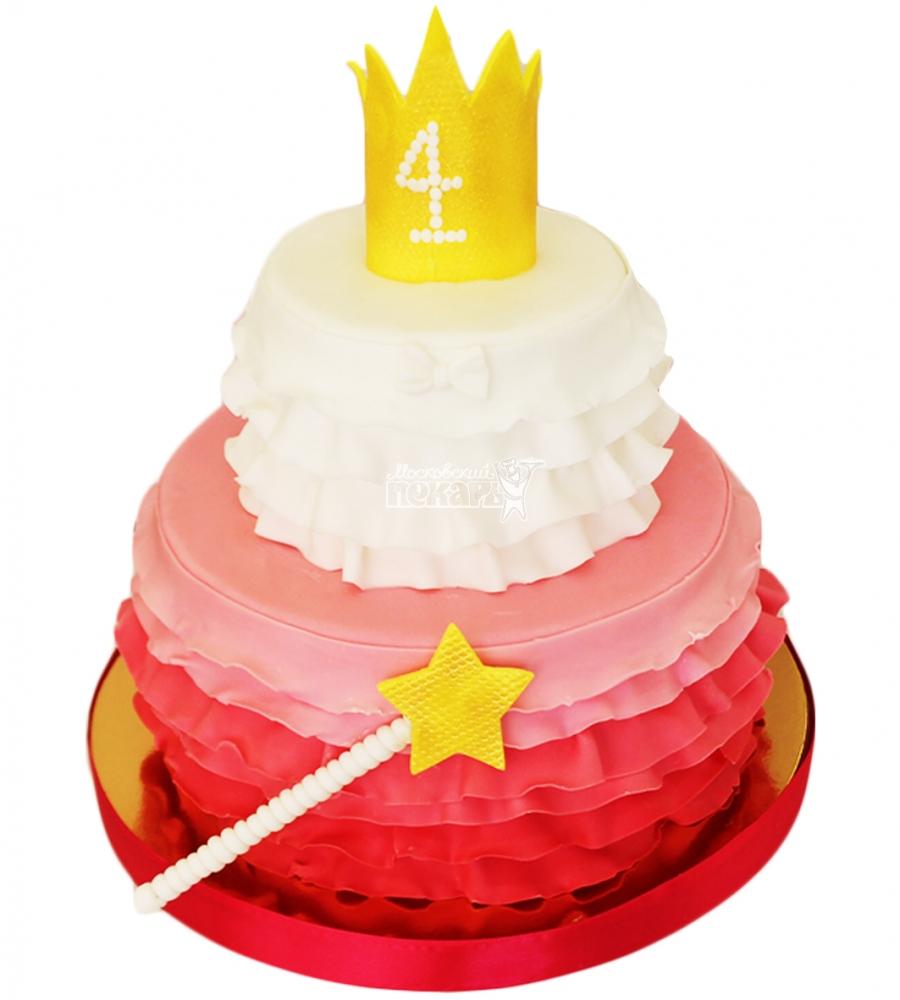 №4329 Торт для девочки