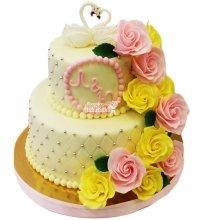 №4335 Свадебный торт