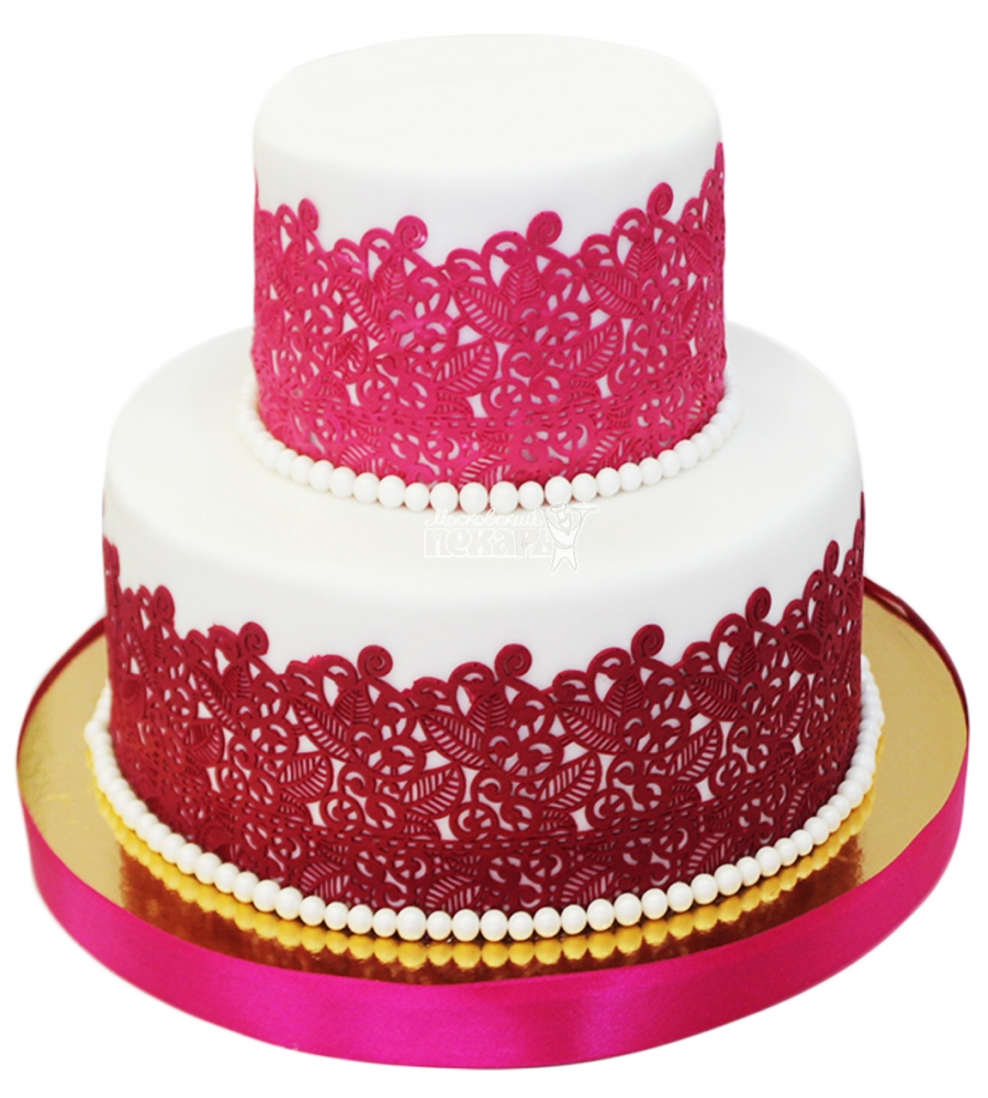 №4340 Свадебный торт