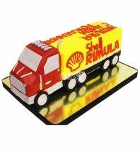 №4348 3D торт грузовик