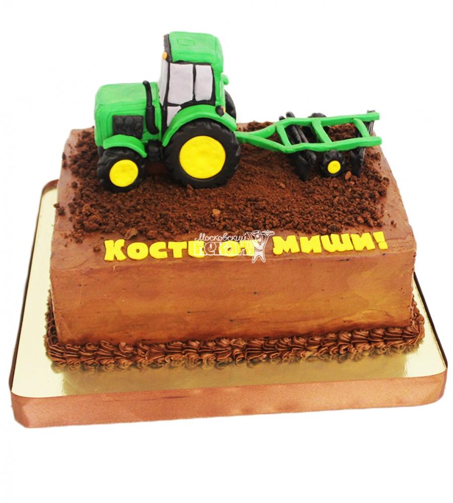№4354 Торт Трактор