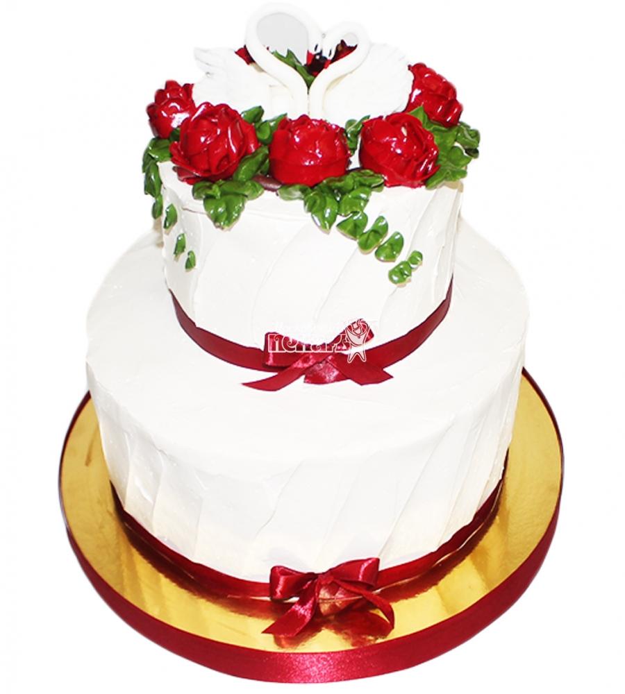 №4363 Свадебный торт