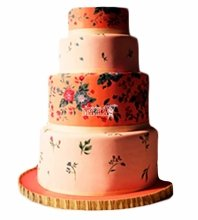 №4394 Свадебный торт
