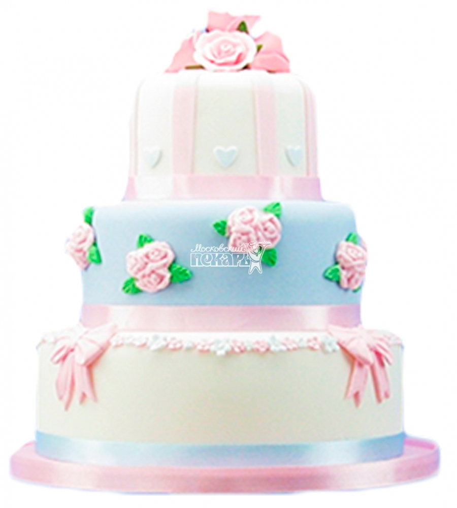 №4395 Свадебный торт