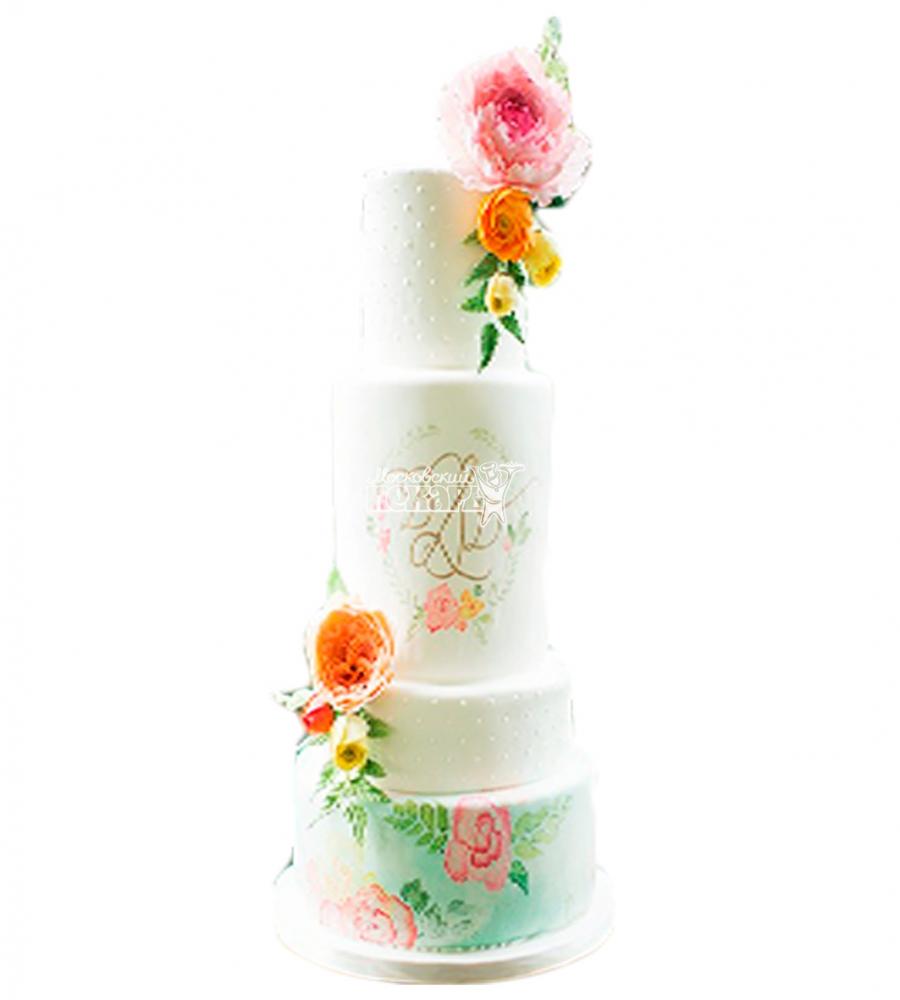 №4410 Свадебный торт
