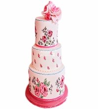 №4411 Свадебный торт