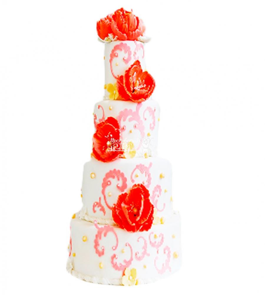 №4417 Свадебный торт