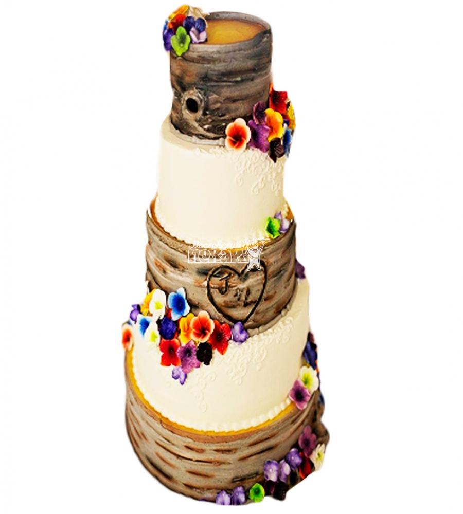 №4420 Свадебный торт