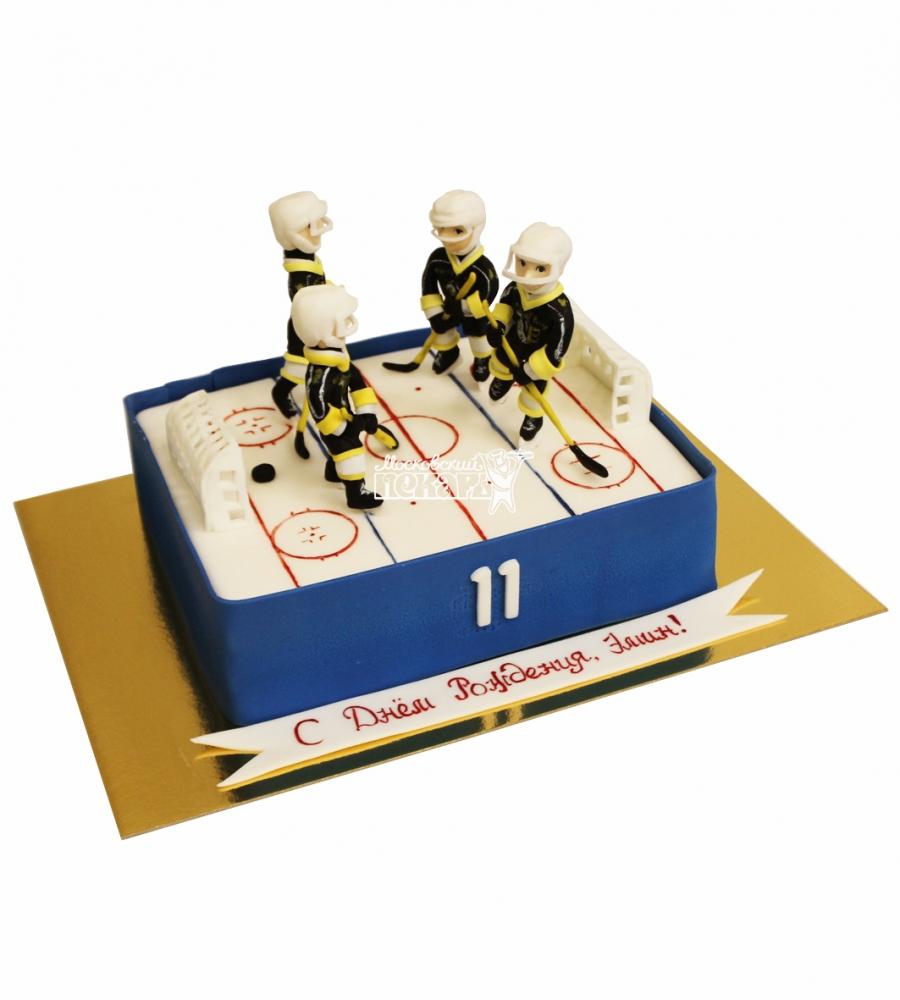 №4425 Торт хоккей