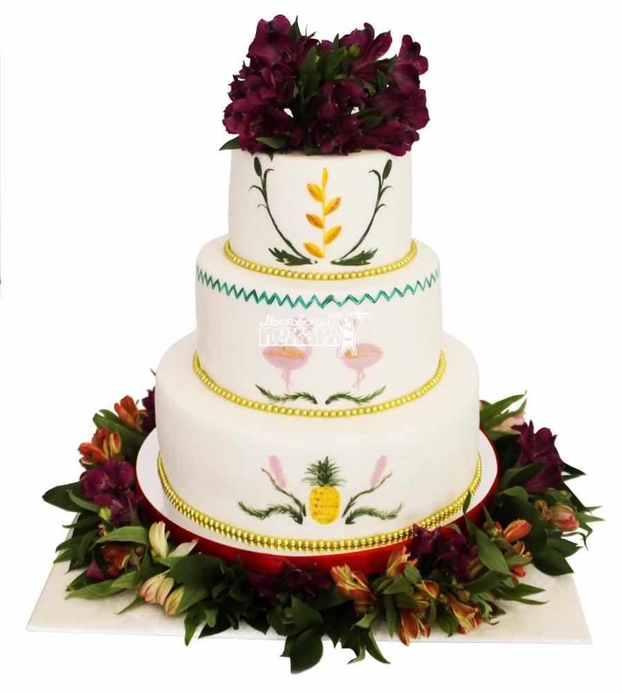 №4430 Свадебный торт