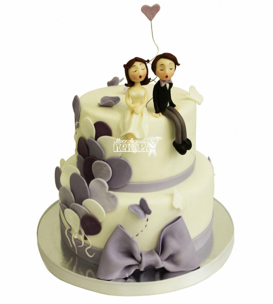 №4433 Свадебный торт