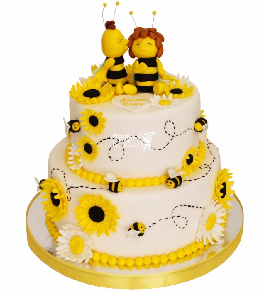 №4434 Свадебный торт