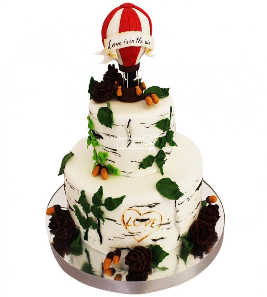 №4444 Свадебный торт