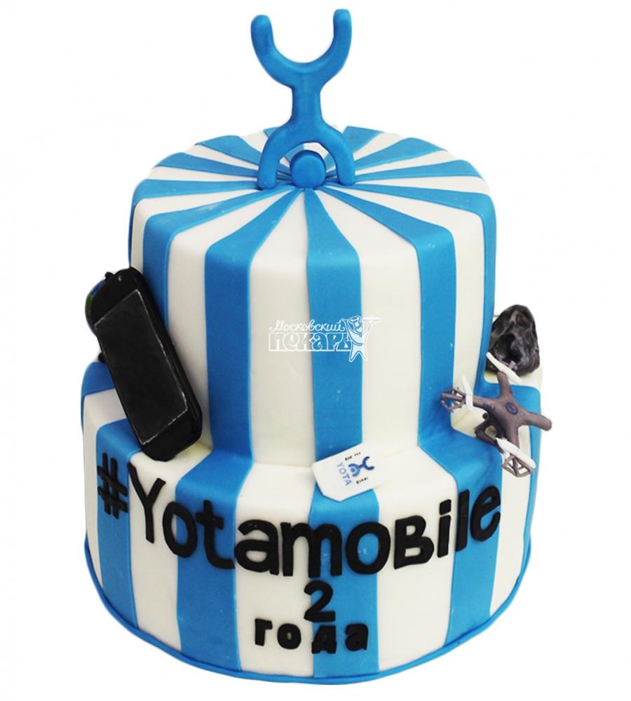 №4450 Корпоративный торт для YOTA