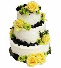 №4454 Свадебный торт