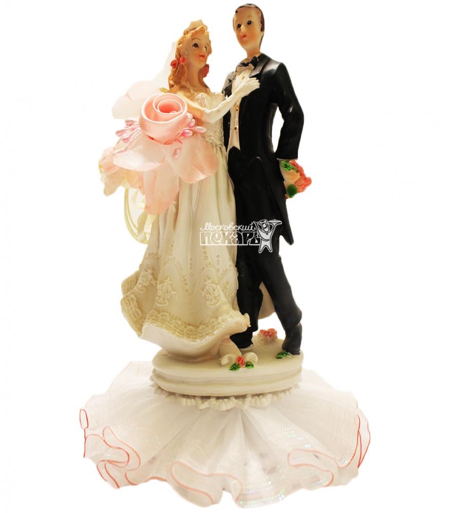 №4476 Фигурка из полистирола жених и невеста 19 см