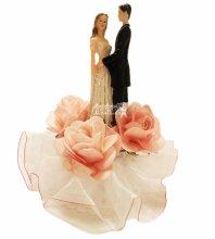 №4477 Фигурка из полистирола жених и невеста 16 см