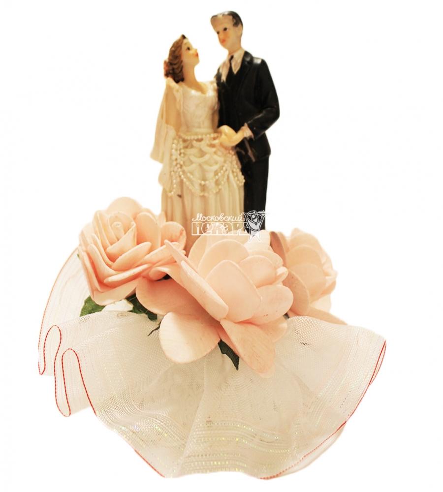 №4478 Фигурка из полистирола жених и невеста 16 см