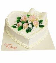 №4487 Свадебный торт