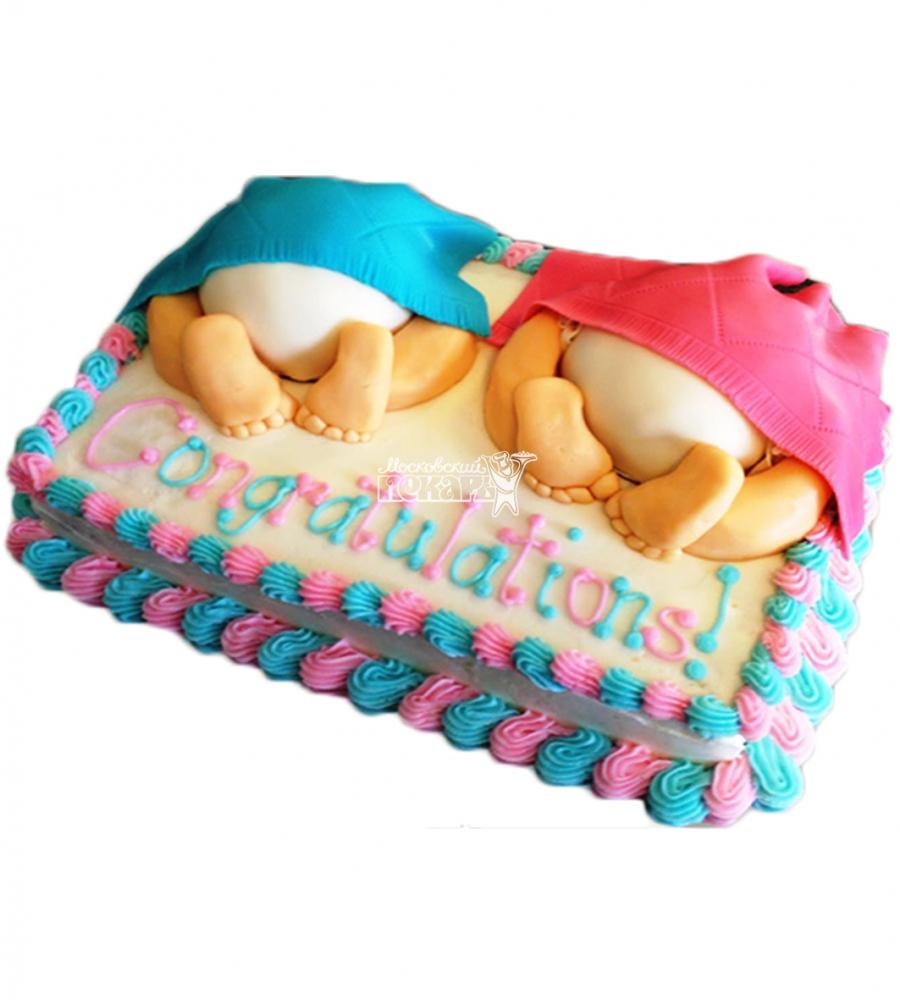 №4541 Торт близнецам