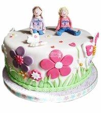 №4550 Торт близнецам