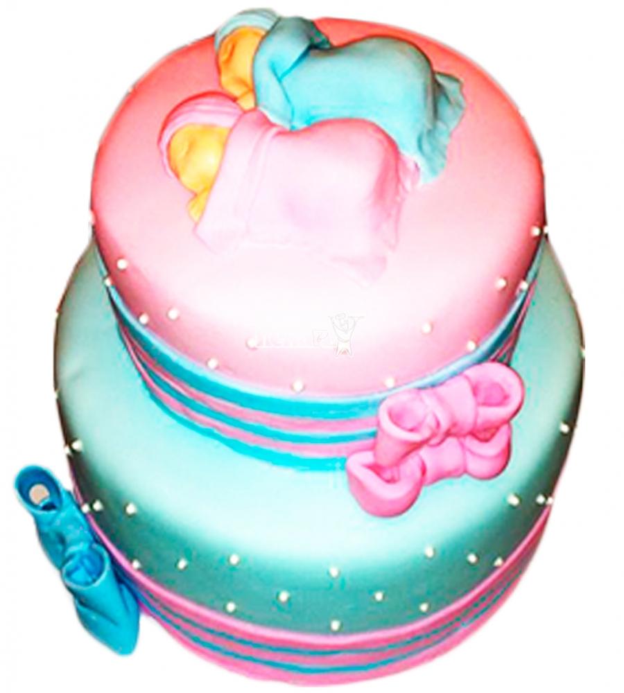 №4578 Торт для будущей мамы