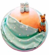 №4582 Торт для будущей мамы