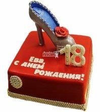 №4590 Торт туфля