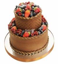 №4597 Торт с ягодами