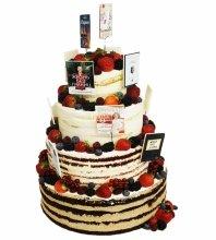 №4624 Голый торт с ягодами
