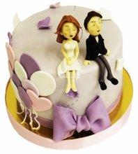 №4634 Небольшой свадебный торт