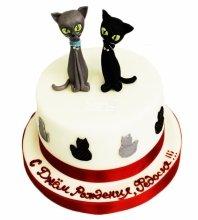 №4638 Торт с кошками