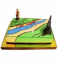 №4639 Торт на День Рождения