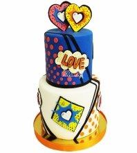 №4698 Свадебный торт