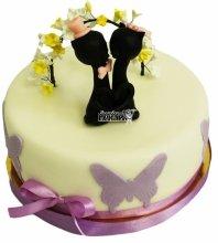 №4728 Небольшой свадебный торт