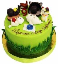 №4735 Торт с кошками