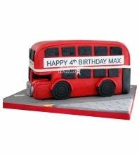 №4749 3D Торт Автобус