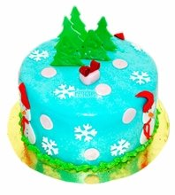 №4791 Торт на Новый Год