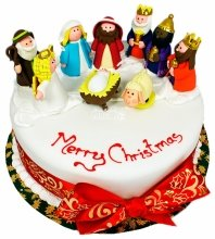 №4802 Торт на Рождество