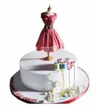 №4841 Торт платье