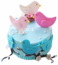 №4843 Торт птицы