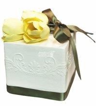 №4962 Свадебный торт с тюльпанами