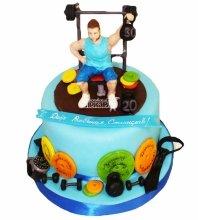 №5101 Торт фитнес