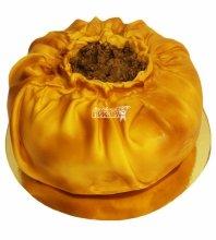 №5122 3D Торт пирог