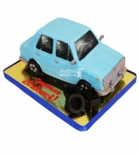 №5135 3D торт Лада